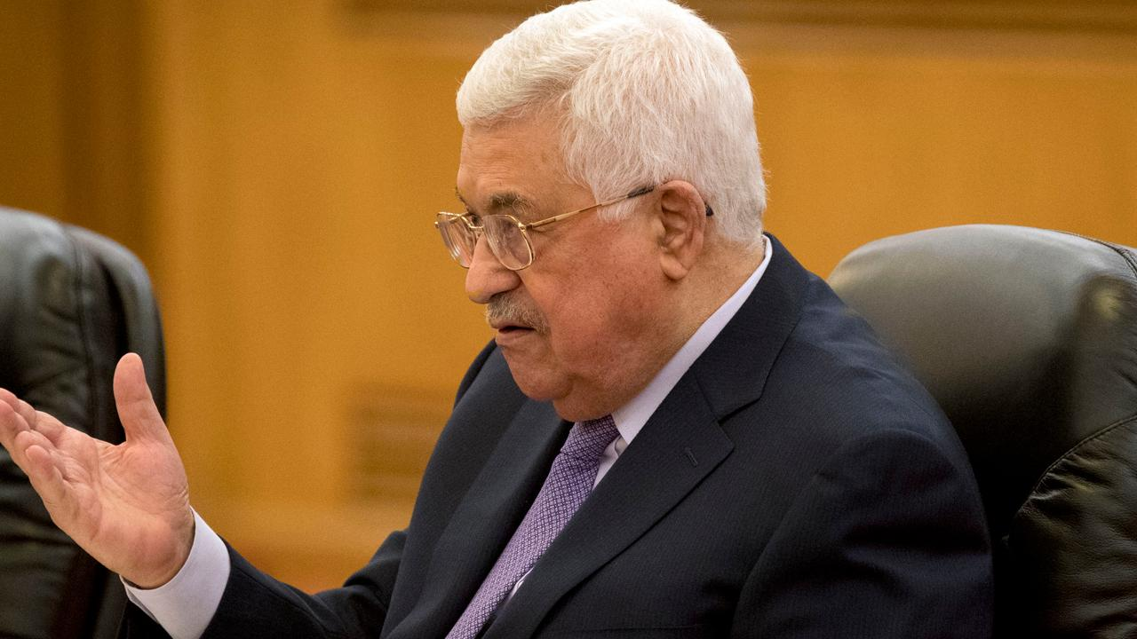 Palestinian leader Abbas faces US deals;  The United Arab Emirates has said it expects an initial negative reaction