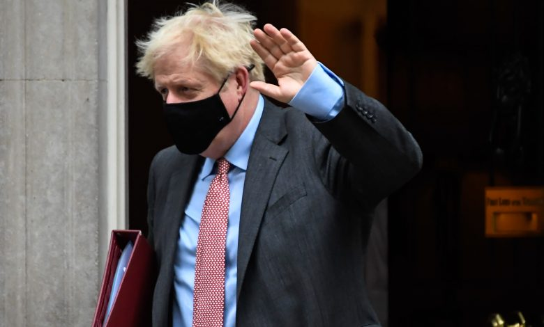 Prime Minister Boris Johnson urges Britain to follow rules to avoid being locked up