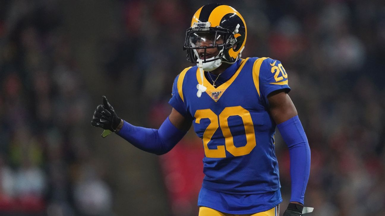 Rams, C.P.  Jalan Ramsay agrees to a five-year, M 105M contract, the agent says