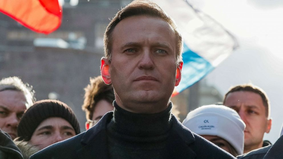 Russian opposition leader Navalny was able to get out of bed