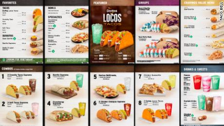 Taco Bell's new menu is coming out on November 2nd.