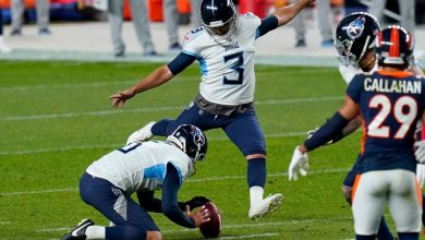 Photo of Tennessee Titans' Stephen Kostkovsky rescued with a 25-yard win after a 4-miss