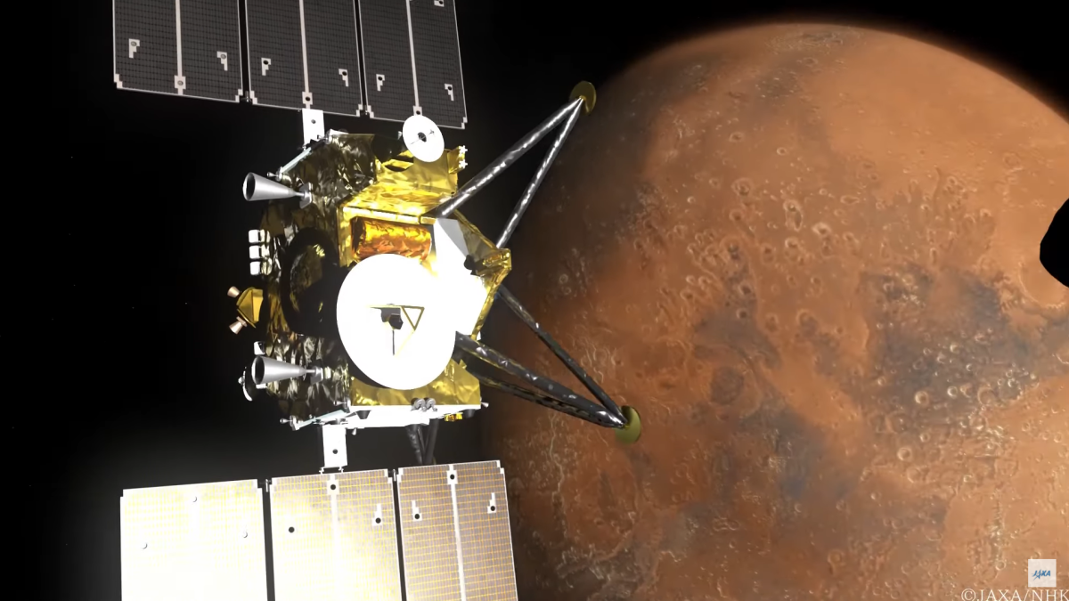 The Japanese space agency will send an 8K camera to Mars