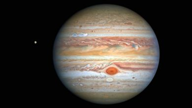 Photo of The famous new Hubble photo shows Jupiter's storm page