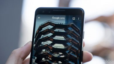 Photo of The redesigned Google Lens camera was inspired by the pixel roll