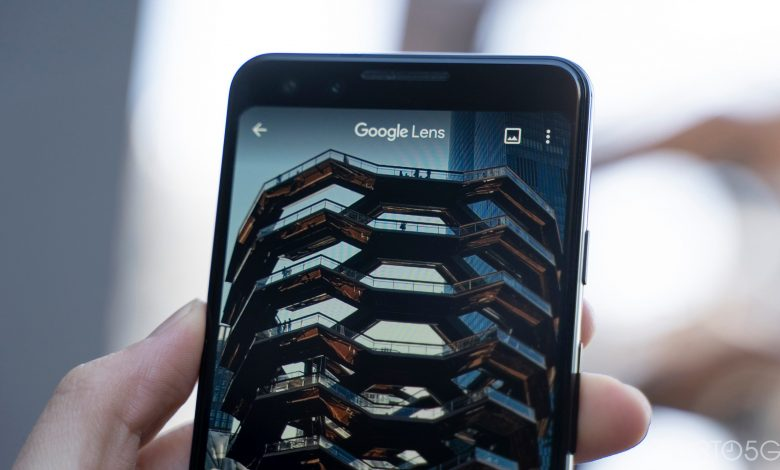 The redesigned Google Lens camera was inspired by the pixel roll