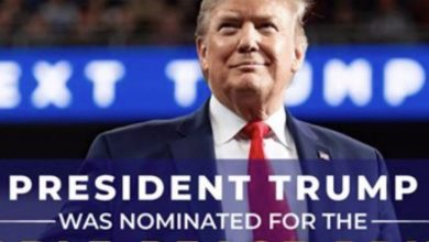 Photo of Trump campaign misrepresents 'Nobel Peace Prize' in advertisement to raise funds for his candidacy, anyone can get it