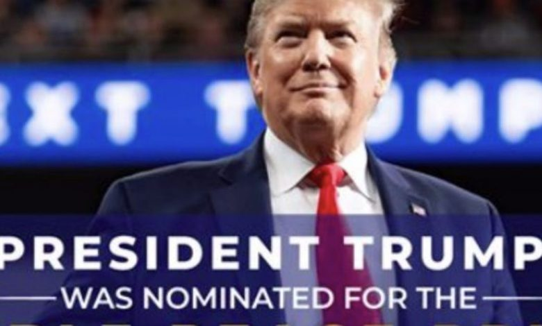 Trump campaign misrepresents 'Nobel Peace Prize' in advertisement to raise funds for his candidacy, anyone can get it