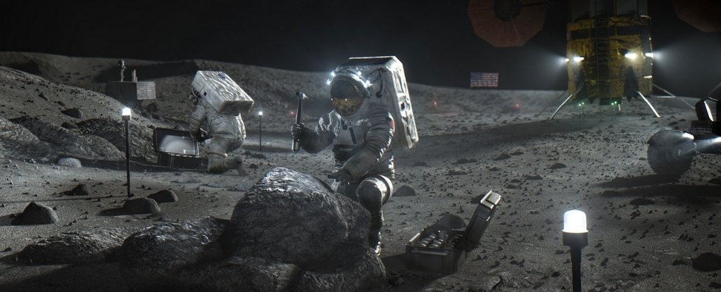 We finally know how much radiation is on the moon, which is not big news