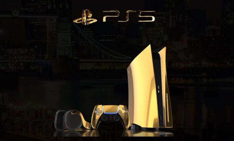 You Can Pre-Order This 24K Gold PlayStation 5 For US$10000