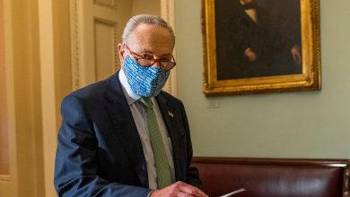 Photo of Schumer calls Supreme Court hearing 'irresponsible and dangerous' after senators test positive for corona virus
