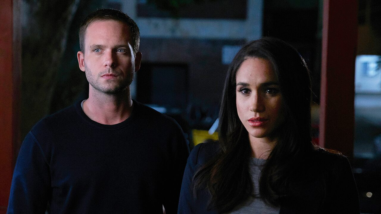 Megan Markle's former 'Suits' co-star Patrick J.  Adams says he was 'intimidated' to call the Duchess of Sussex