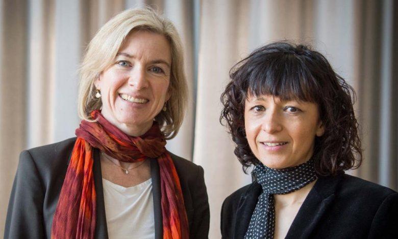 The Nobel Prize in Chemistry was awarded to Emmanuel Sarpentier and Jennifer A. Doud Tna was given CRSPR gene editing