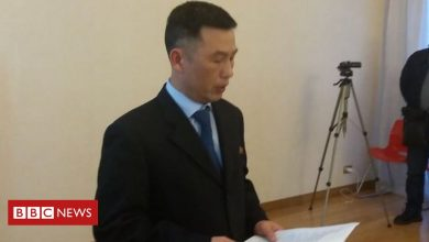 Photo of Missing North Korean ambassador 'lives in the south'