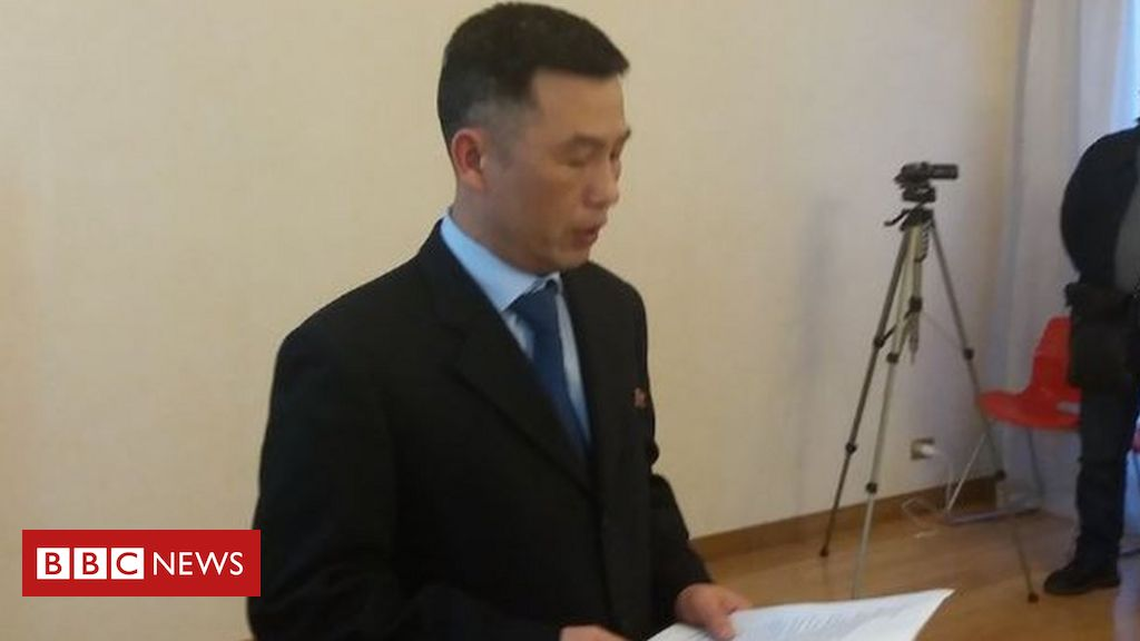 Missing North Korean ambassador 'lives in the south'