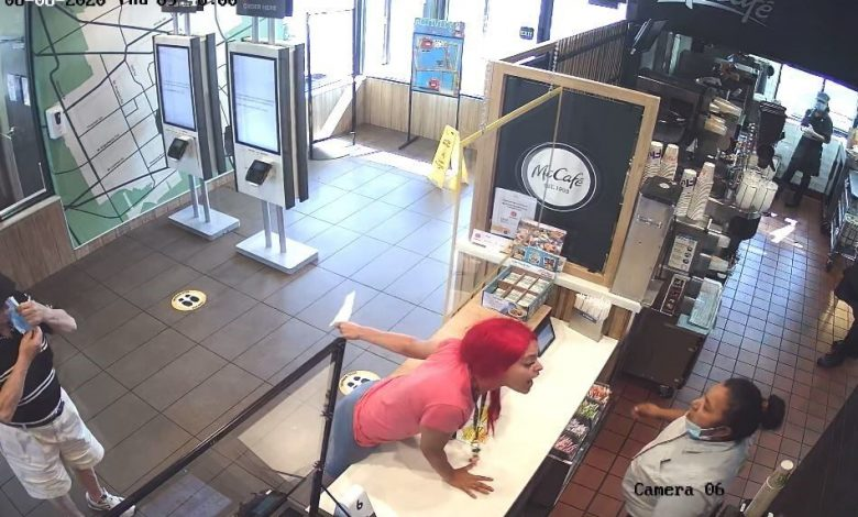 McDonald's client allegedly assaulted, crashing employee's head due to misalignment