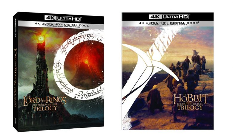 The Lord of the Rings and The Hobbit trilogy is released on 4K Ultra HD Blu-ray