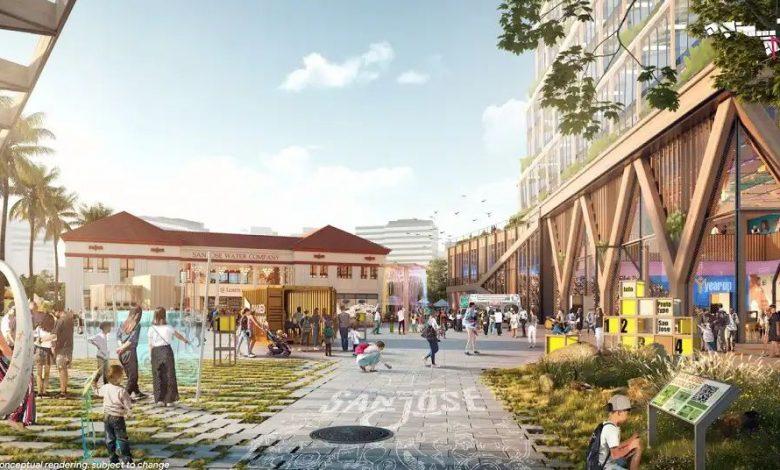 Renders of Google's huge San Jose campus show how it can feel like a neighborhood