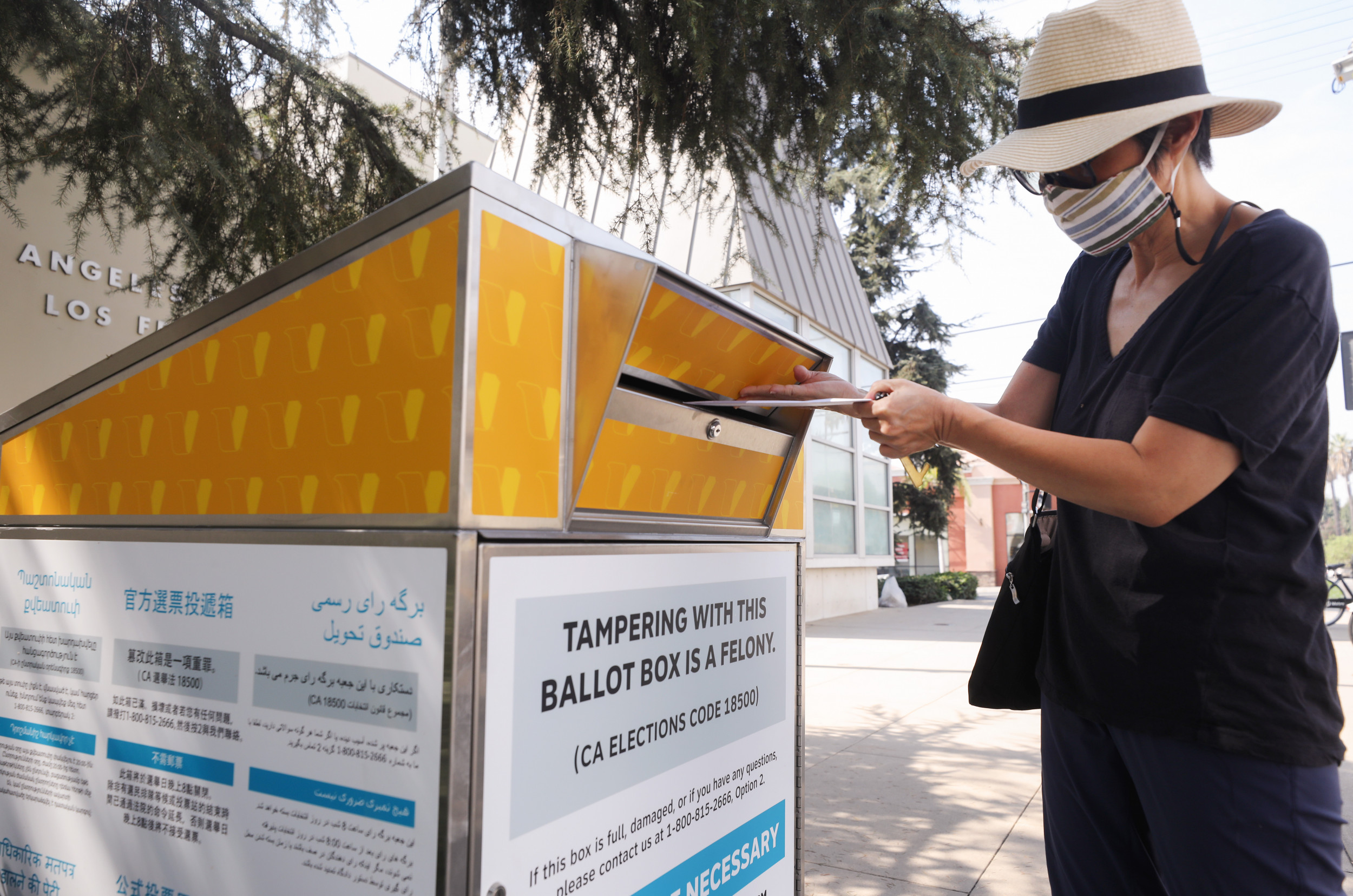 California GOP accused of setting up fake official ballot drop-off boxes across the state