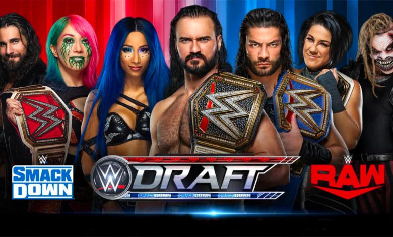 2020 WWE Draft Results: SmackDown and Raw rosters, rules, Monday format, pools of superstars
