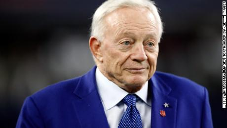 Jerry Jones, owner of the Dallas Cowboys, has backed Prescott from recovering from injury and backed up his place as a quarterback.