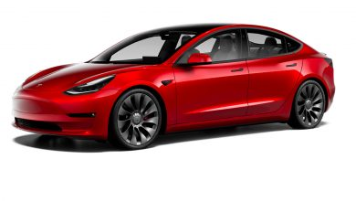 Photo of Tesla Model 3 'Update' goes live with 353-mile range, Uberbine wheels, drive shaft and more