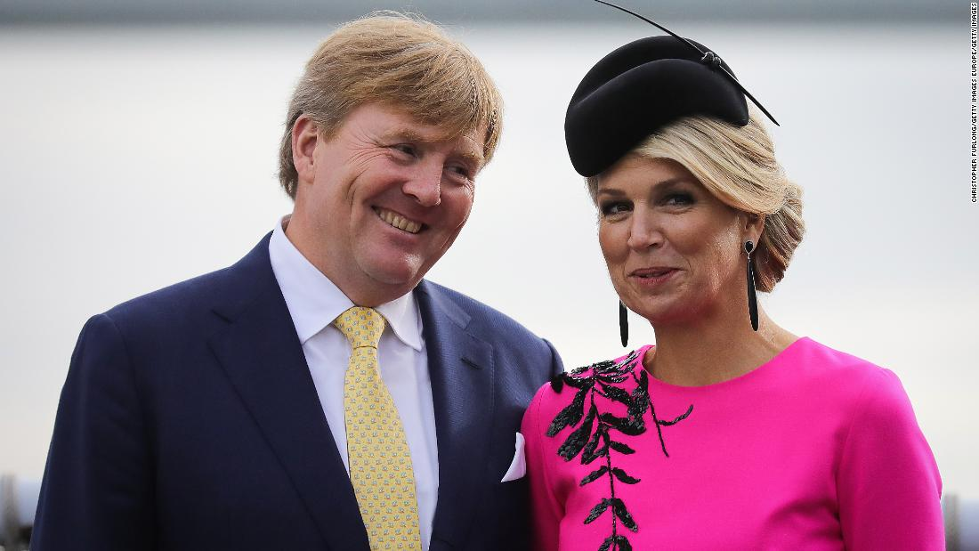 The Dutch king criticized the short holiday in Greece
