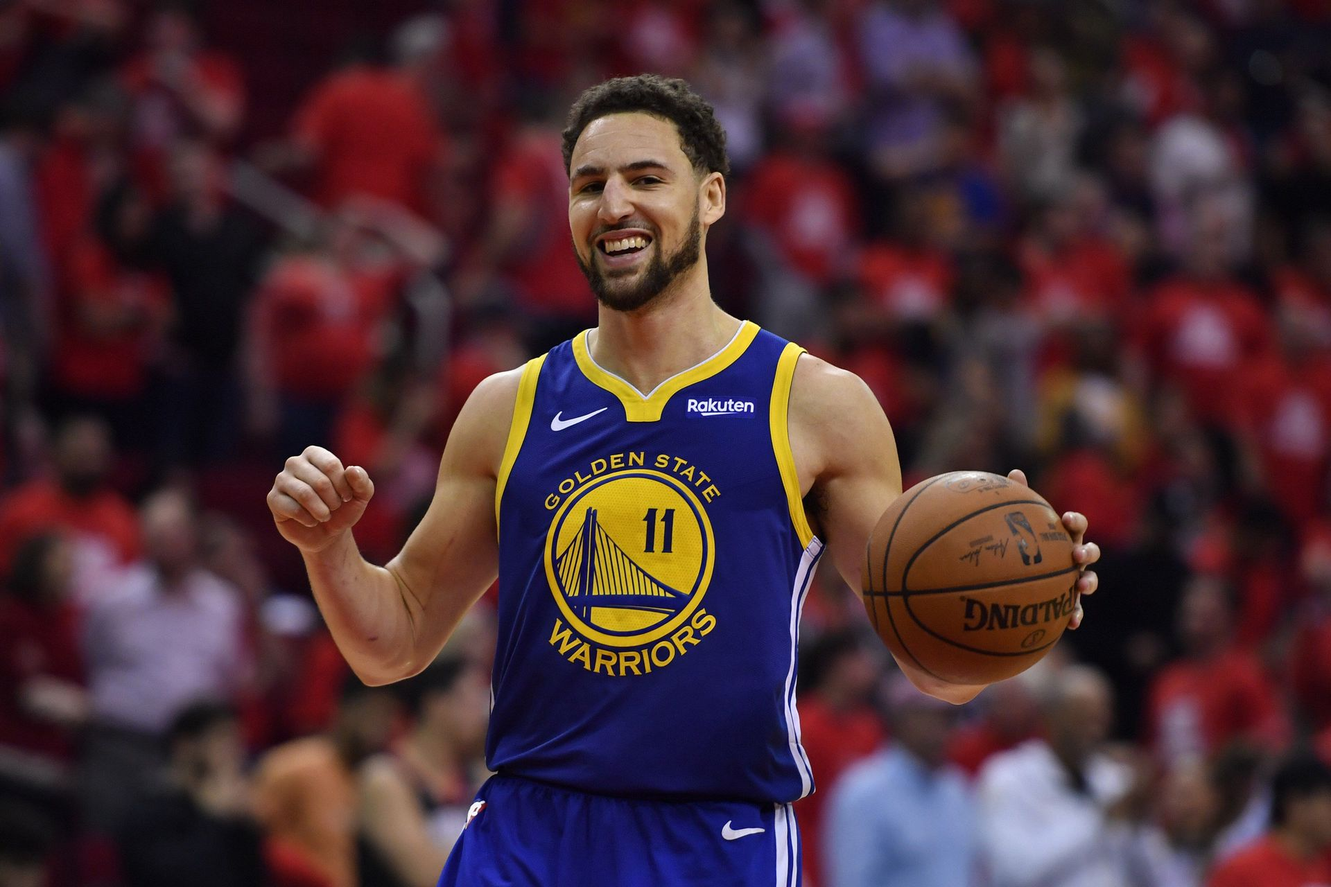 """""""How crazy is this"""": The Warriors youngsters were surprised after seeing Clay Thompson in practice"""