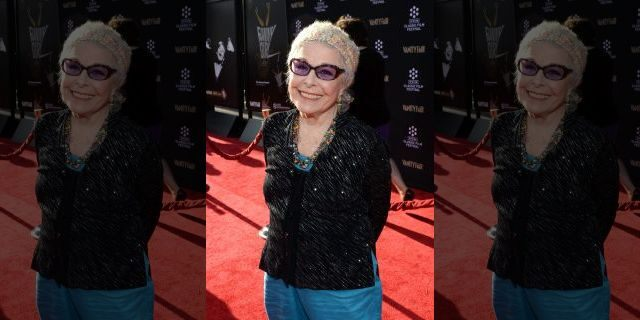 Marge Champion, who was filmed here in 2013, has always had the goal of 'dancing', his son Greg told Fox News.  (Photo by Michael Buckner / WireImage)