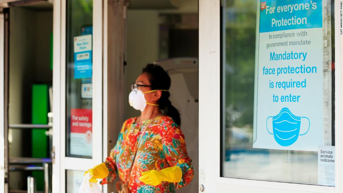 Wearing masks could save more than 100,000 American lives in February, according to a new study