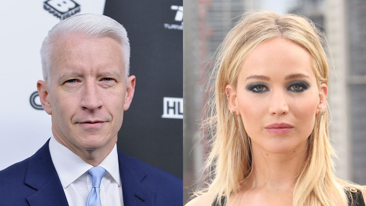 Jennifer Lawrence says she was confronted after Anderson Cooper accused her of a fake Oscar fall