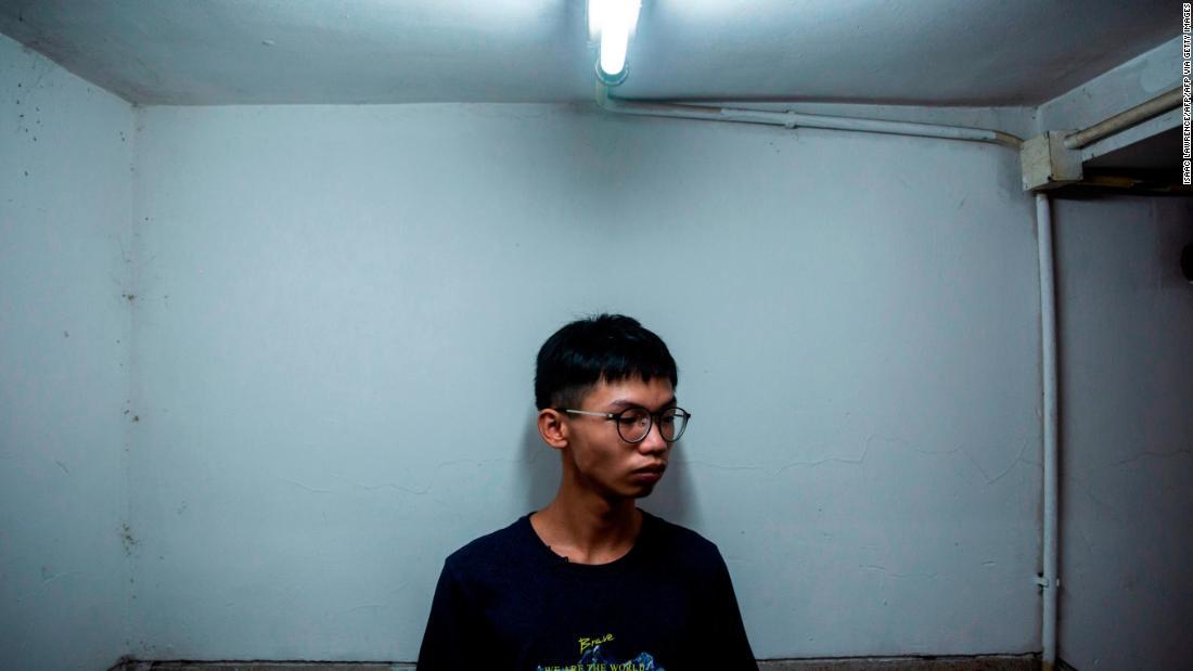 Hong Kong teen activist arrested for allegedly seeking asylum at US consulate
