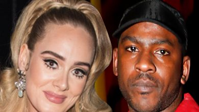 Photo of Adele says she is single amid rumors of dating with British rapper Skepta