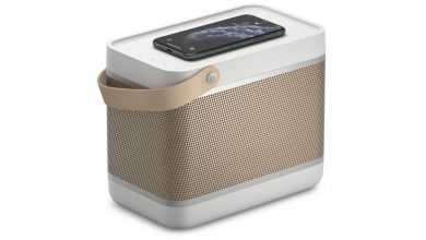 Photo of Bang & Olufson's latest lunch box-shaped speaker has a built-in Qi wireless charger