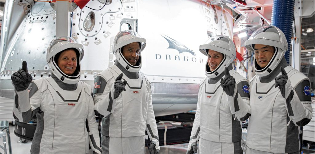 """SpaceX operational astronaut """"Nail polish"""" back on track after delay"""
