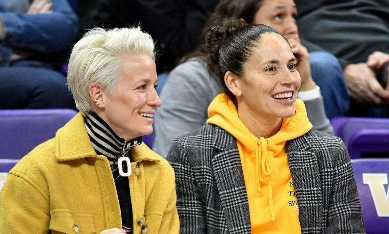 Megan Robino announces Sue Bird's engagement