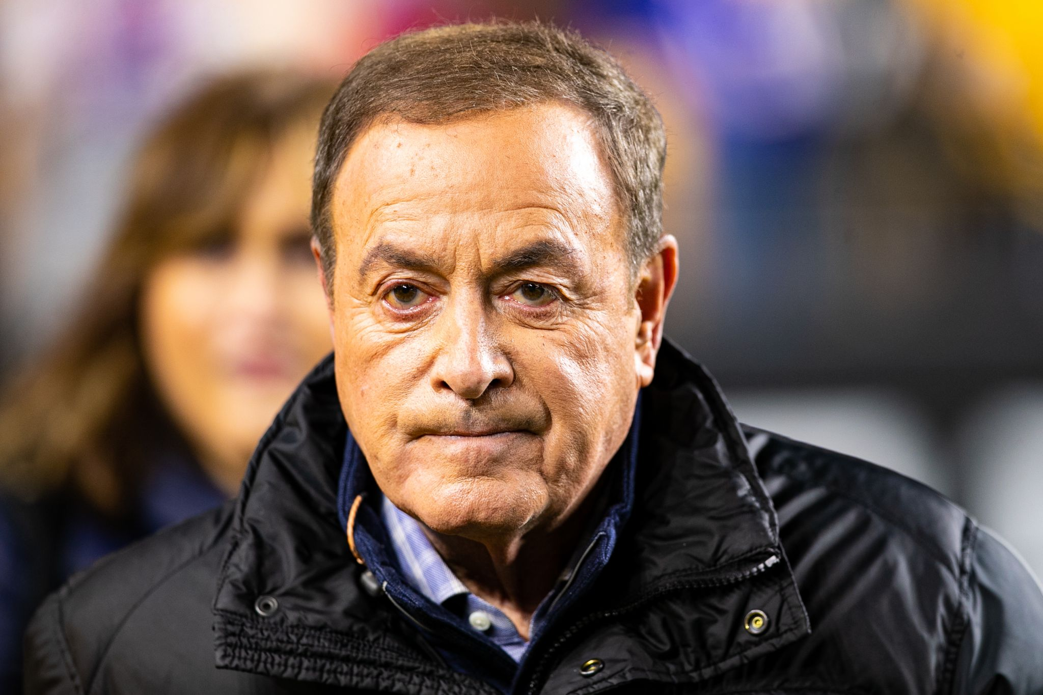 Al Michaels doesn't know how the Golden Gate Bridge got its name, does it?