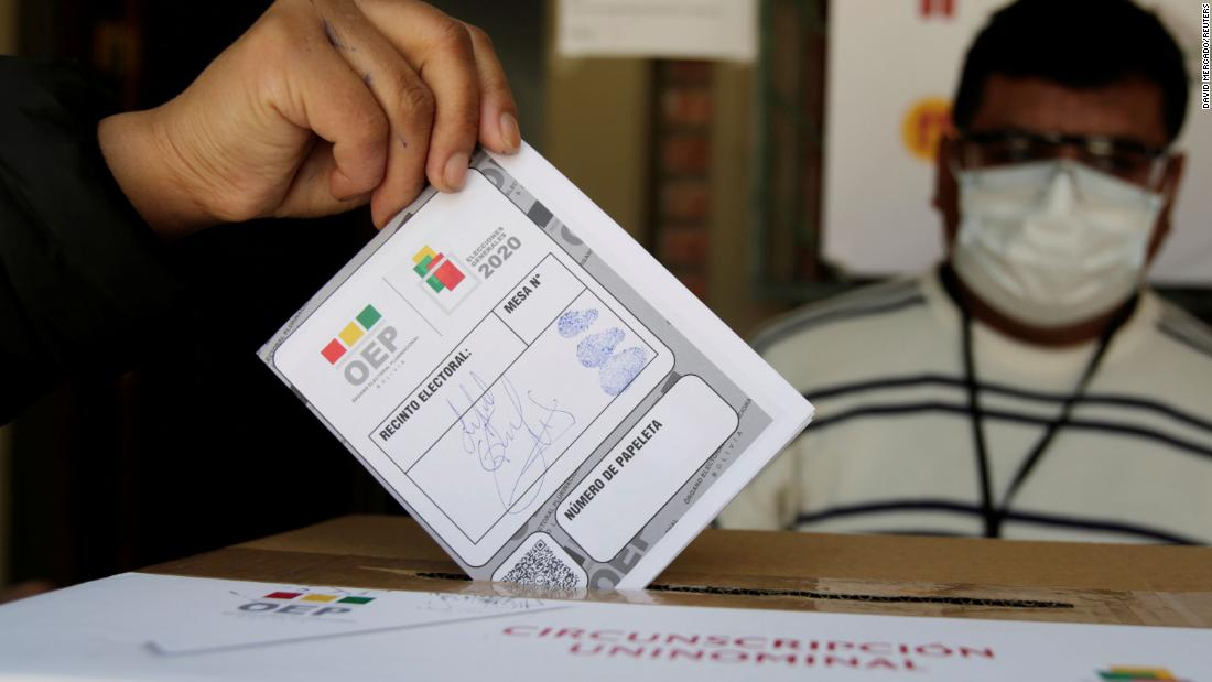 Bolivia is waiting for the official election results, but the Socialist candidate is being congratulated