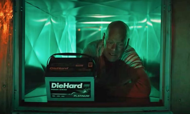 Bruce Willis revisits his role as John McLane Die Hart Commercial - Timeline