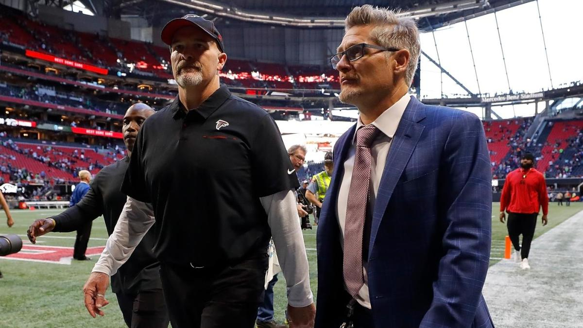Following the 0-5 start, Falcons fire coach Dan Quinn and G.M.  Thomas Dimitroff will announce the interim coach on Monday