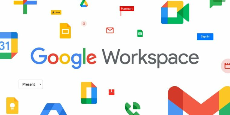 "Google renames the G suite to ""Google Workspace"" and sends new multi-colored icons"