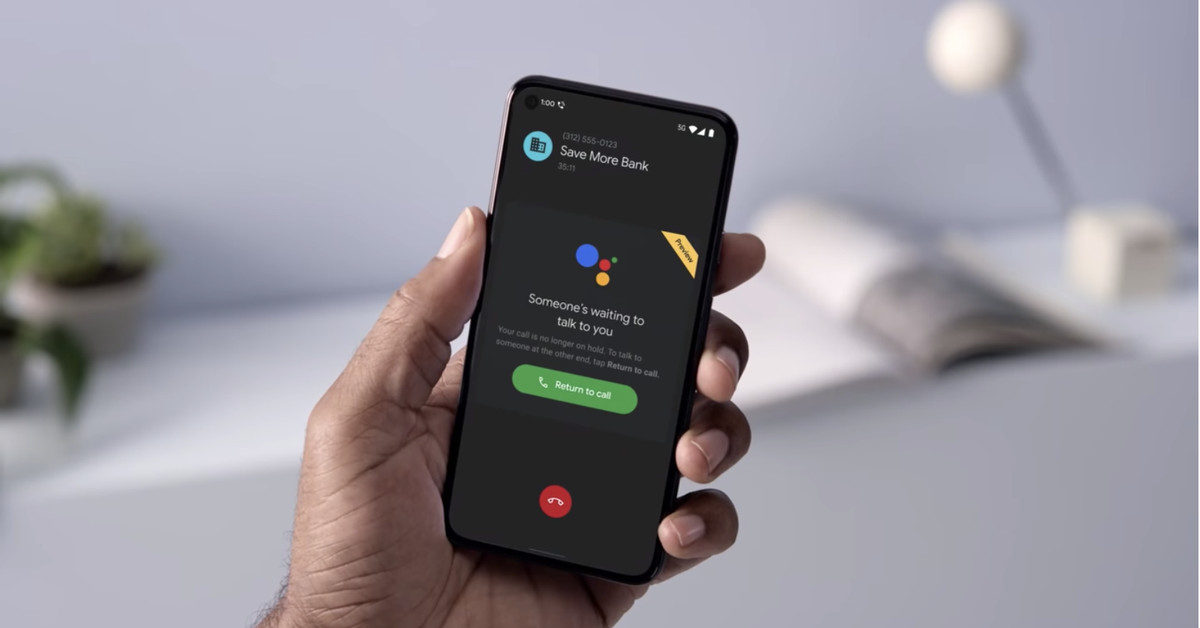 Google's new 'Hold for Me' feature saves you from lift music