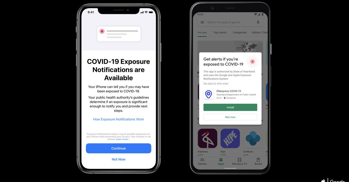 If you upgrade to an iPhone 12 or 12 Pro, you will need to re-enable COVID-19 exposure notifications