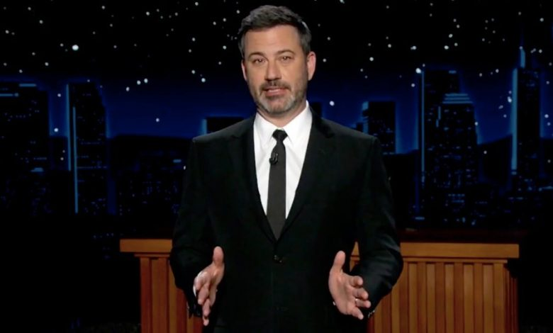 Jimmy Kimmel attacks Trump for getting the corona virus after making fun of Biden wearing a mask