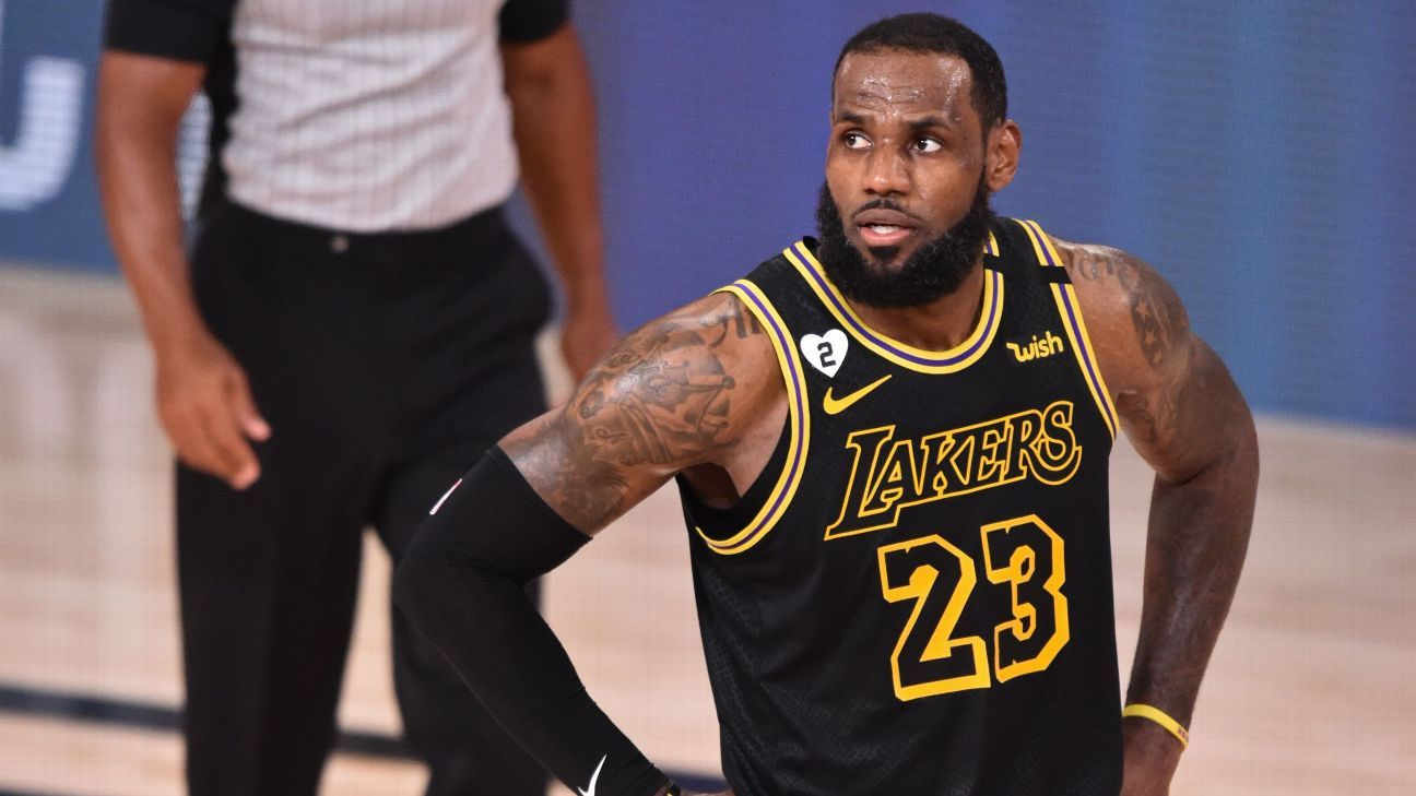 Los Angeles Lakers LeBron James Danny Green's Miss - 'It Didn't Go'