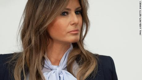 Melania Trump cancels Tuesday's rally, citing Govt's release