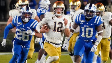 Photo of Notre Dame vs. Louisville: Watch live stream, online, TV channel, kickoff time, discrepancies, spread, prediction, selection