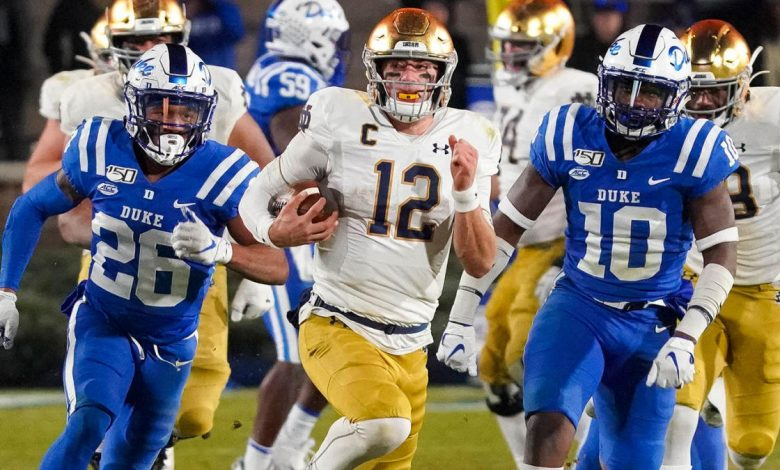 Notre Dame vs. Louisville: Watch live stream, online, TV channel, kickoff time, discrepancies, spread, prediction, selection