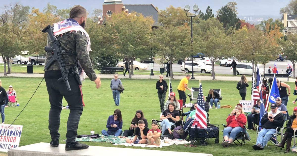 Protest against mask requirements held in Utah Capitol