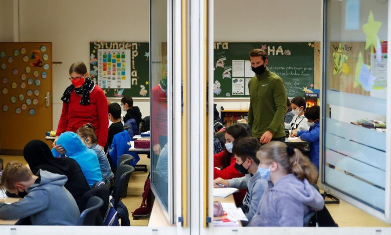 Schools will be open in Europe's new locks, a reversal from spring